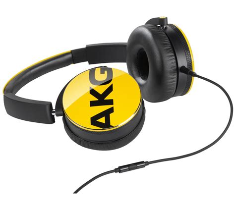 Black Y50 Headphones buy akg y50 headphones yellow free delivery currys