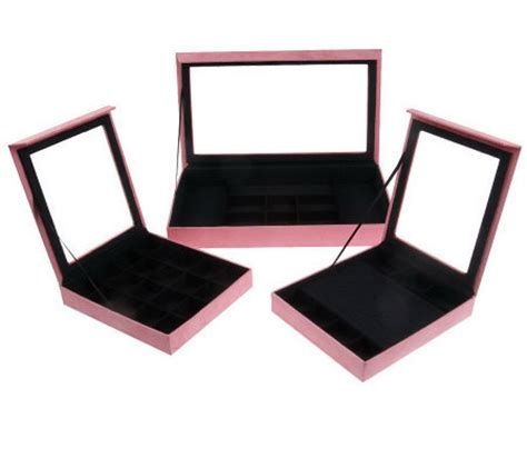 qvc lori greiner jewelry box set of 3 silver safekeeper in drawer jewelry boxes by lori