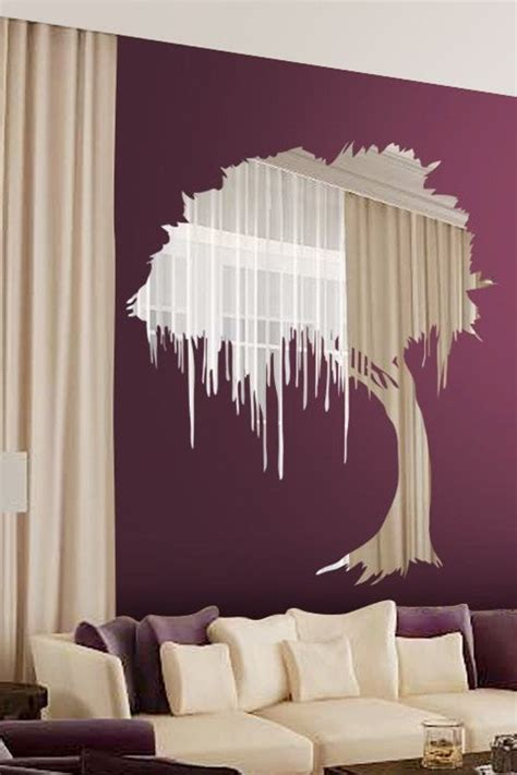 beautiful wall stickers for room interior design beautiful wall sticker that acts like a mirror
