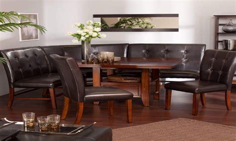 padded bench seats rustic oak breakfast nook set breakfast corner nook dining set dining room artflyzcom