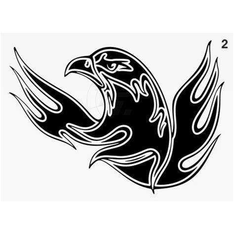 Aufkleber Flammen by Flammenaufkleber Adler Mit Kontur