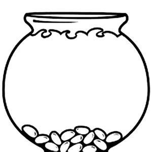 empty fish bowl coloring page empty fish bowl coloring page clipart best creative