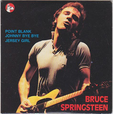 Jersey Point Blank bruce springsteen collection point blank johnny bye bye