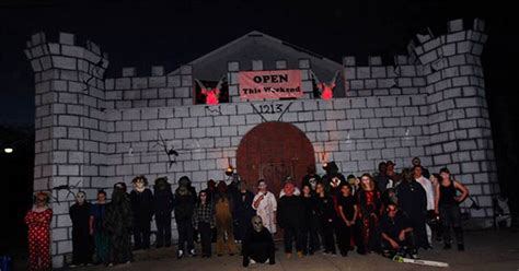 riverside haunted house riverside jaycees haunted castle of carnage trail