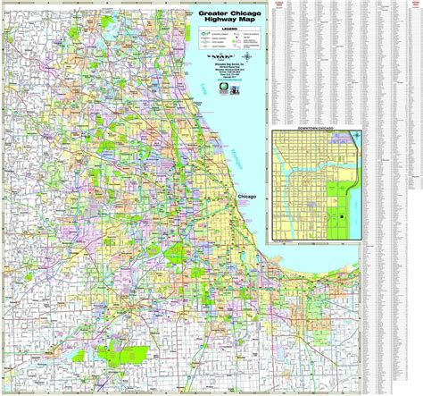 map of chicago road construction chicago highway map map of chicago highways united