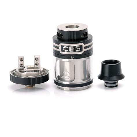 Rta Authentic authentic obs engine rta 5 2ml 25mm black rebuildable tank atomizer
