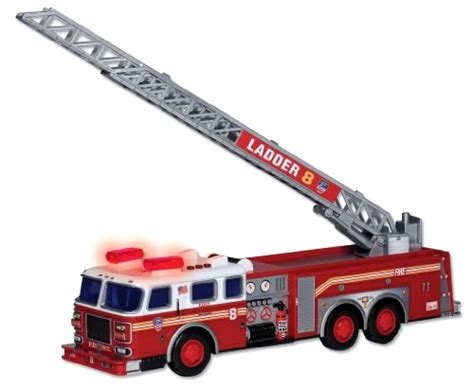 brio light and sound fire engine daron fdny ladder fire truck with lights sound kids boys
