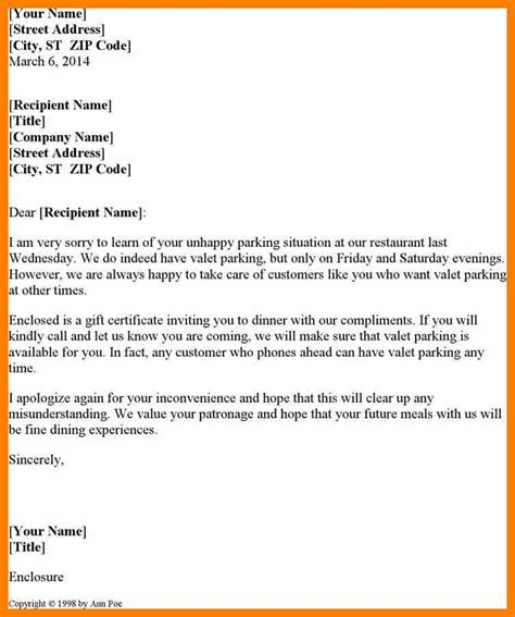 Apology Letter To Vip Customer Apology Letters To Customer Exle Of Letter Apologize For Mistake Customer Letter Apology