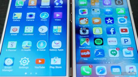 Lcd T S Iphone 7g Black Aa samsung galaxy s6 vs iphone 6s