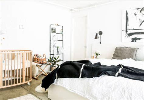 Nursery In Bedroom by Loft Reveal The New Nursery Apartment34