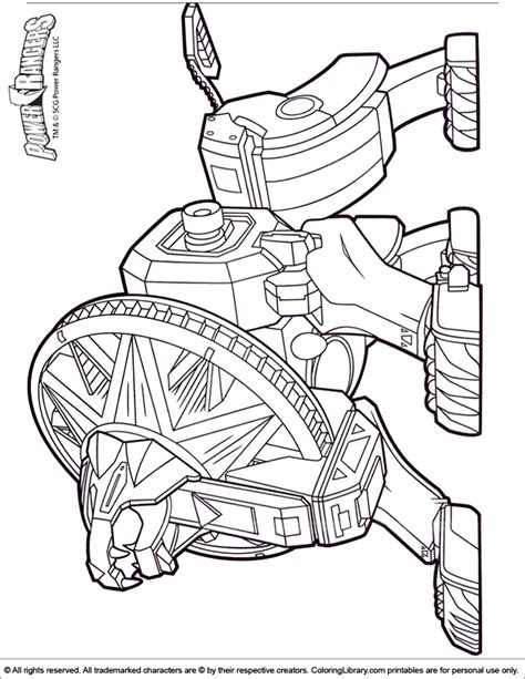 power rangers operation overdrive coloring coloring pages