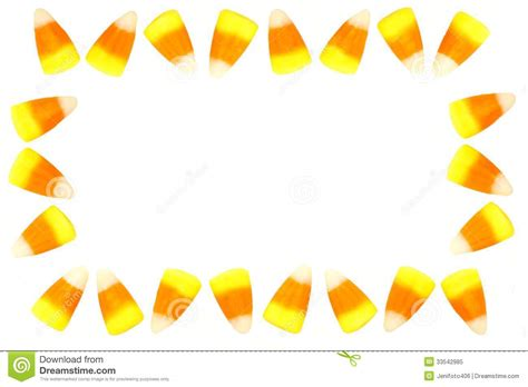 candy corn frame royalty free stock photo image 33542985