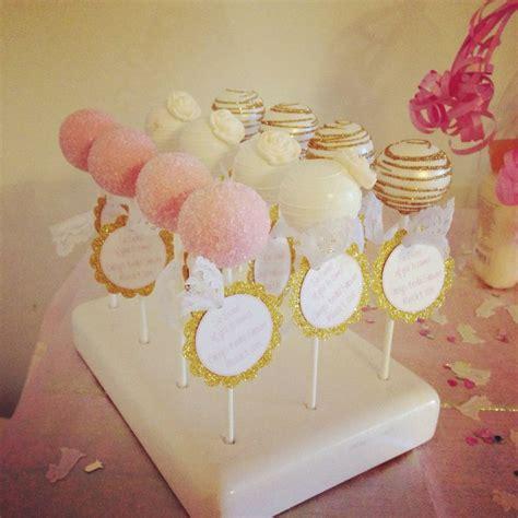 Cake Pops For Wedding Shower by Bridal Shower Cake Pops