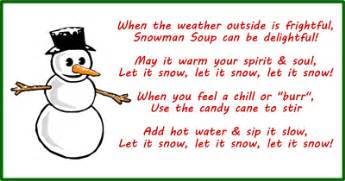 Snowman soup poem amp gift tags free to download amp print