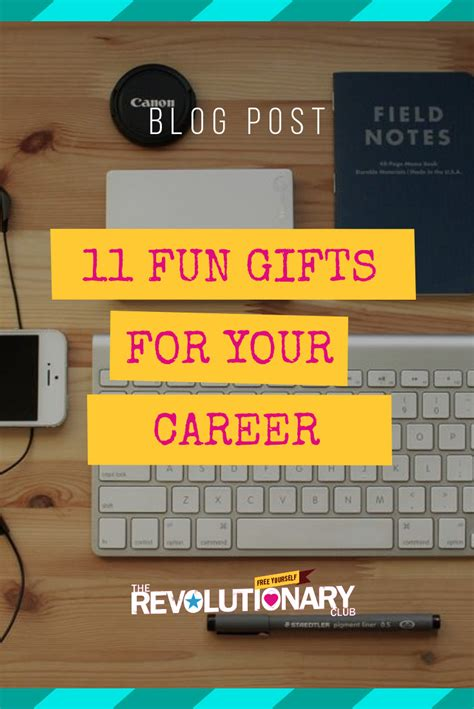 11 fun gifts for your career
