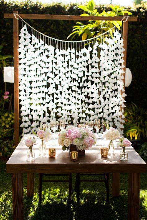 check out this stunning handmade garden wedding diy