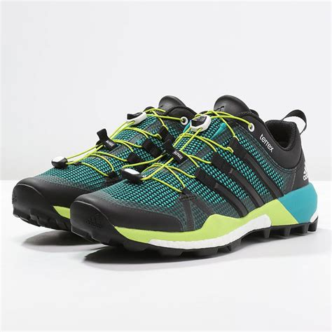 Adidas Terrex Boost Pria Sepatu Sneakers Running Sport Casual Pria adidas terrex skychaser trail shoes ss16 50 sportsshoes