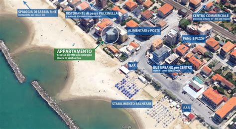 senigallia appartamenti mare appartamento estivo stella in affitto a senigallia vista mare