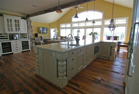 beautiful kitchens with islands custom kitchen cabinetry very big and beautiful also