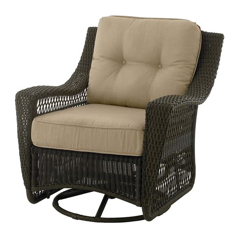 Swivel Patio Chair Country Living 65 50974 44 Concord Swivel Glider Patio Chair Sears Outlet
