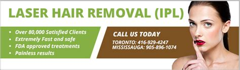 ipl hair removal clinic laser hair removal clinic toronto mississauga ipl treatments