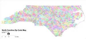 carolina zip code map free carolina zip code maps free carolina zip