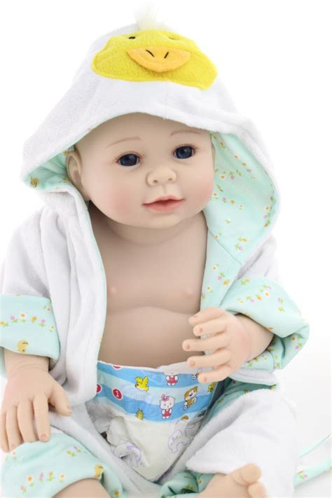 baby dolls that can go in the bathtub 20inch reborn baby dolls boy girls full body silicone realistic reborn dolls for kids bath toys