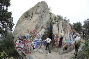 spray painter wetherill park california closes corral cave after vandals spray