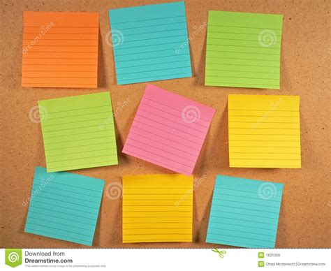 board free bulletin board notes stock photo image of empty orange