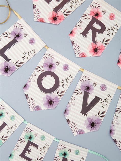 printable iron on letters free you have to see this darling printable iron on banner idea