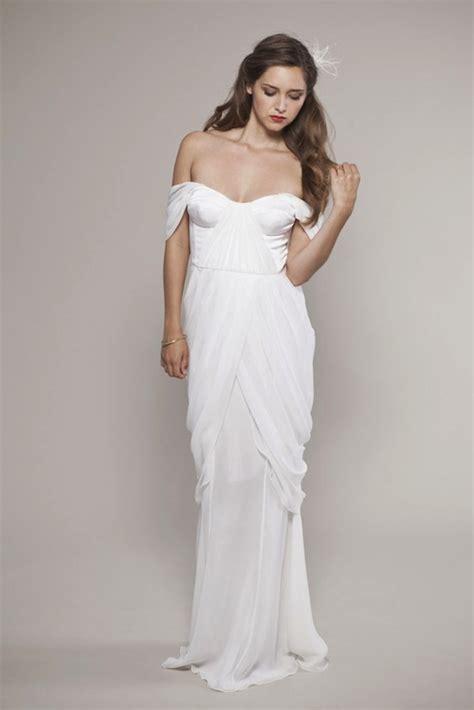 Brautkleid Mittellang by The Shoulder White Wedding Dress