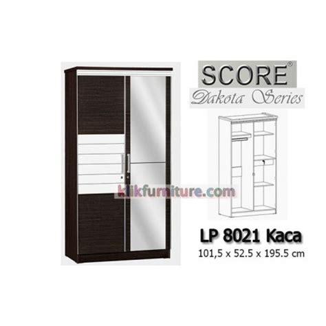 Lemari Pakaian 3 Pintu Polos Panel lemari baju 2 pintu minimalis lp 8021k dakota score