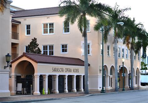 sarasota opera house first street facelift in sarasota scheduled for january completion