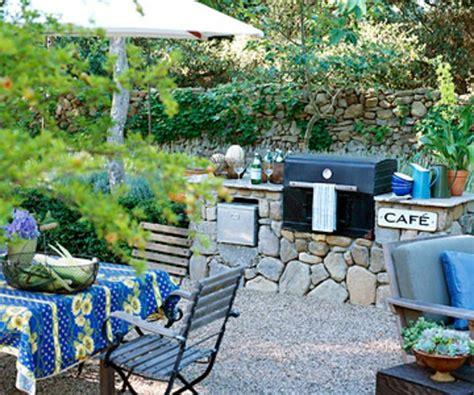 terrasse mit kies terrasse materialien und designs