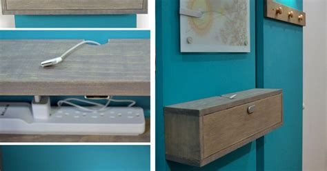 back to elegant stage offers a discreet charging shelf charging shelf station wall mounted diy charging station