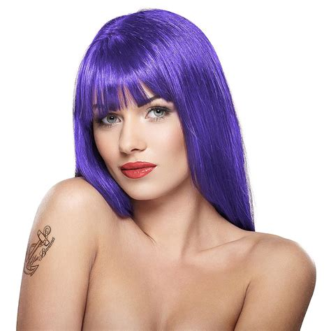 semi permanent hair color for hair stargazer semi permanent violet colour hair dye 70ml uk