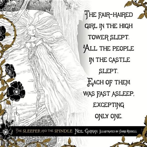 The Sleeper And The Spindle by The Sleeper And The Spindle Neil Gaiman Chris Riddell