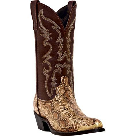 laredo mens cowboy boots pungo ridge laredo s monty snake print western boots