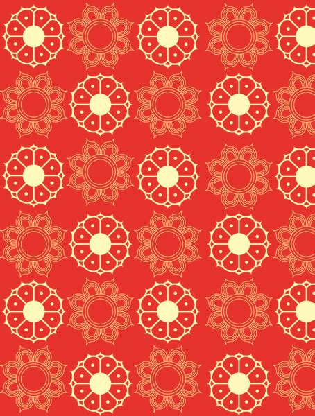 floral pattern all over cdr vector floral pattern free vector download 23 046 free