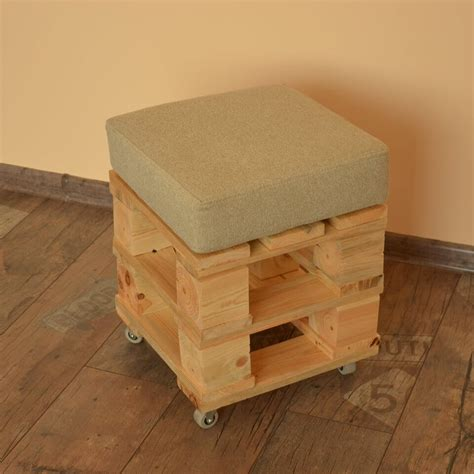 build ottoman ottoman made from pallets