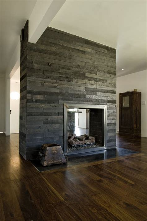 Faced Fireplace by 21 Best Images About Reclaimed Wood Wall On