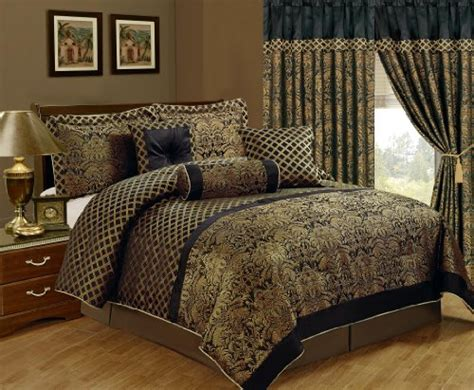 chezmoi collection lisbon 7 piece jacquard floral
