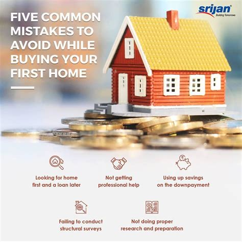 when to buy your first house 5 common mistakes to avoid while buying your first home