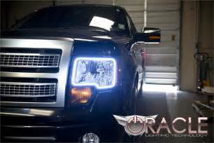 2010 Ford F150 Headlights Image Gallery Oracle Halos Trucks