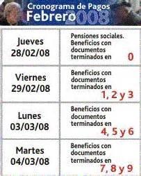 calendario de pago cronograma de pagos ips argentina calendario de pagos del ips de febrero