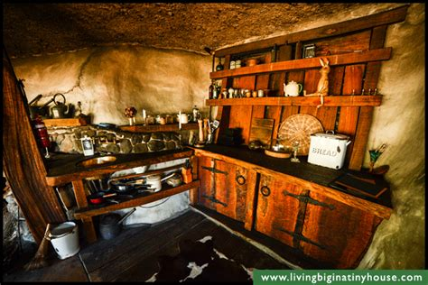 hobbit kitchen magical hobbit like eco cave house living big in a tiny