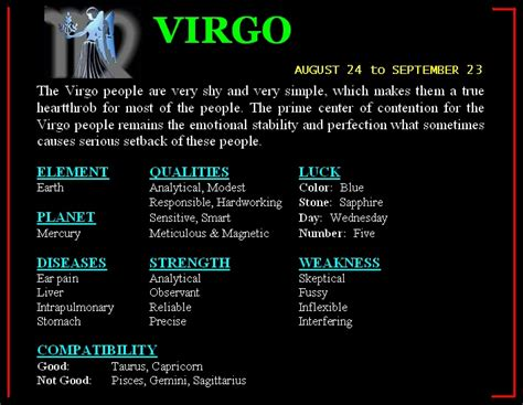 virgo man traits personality virgo love horoscope tattoo