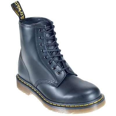 doc martens 11822006 black leather 6 inch work boot