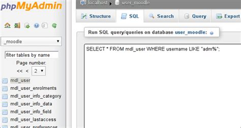Mysql Create Table From Select by How To Execute Mysql Queries With Phpmyadmin Tutorial