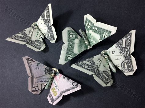 Origami Money Butterfly Folding - 1000 ideas about money origami on dollar bill